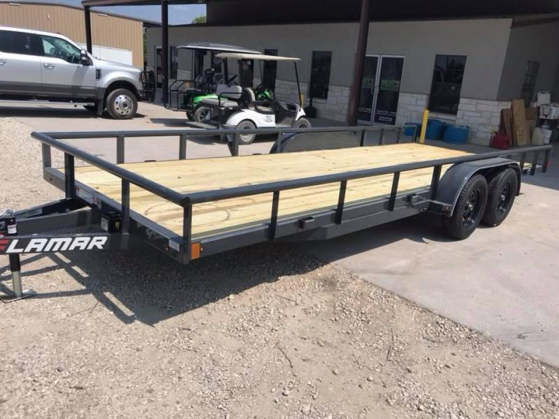 2019 83X20  Lamar Trailers CHANNEL FRAME Flatbed Trailer