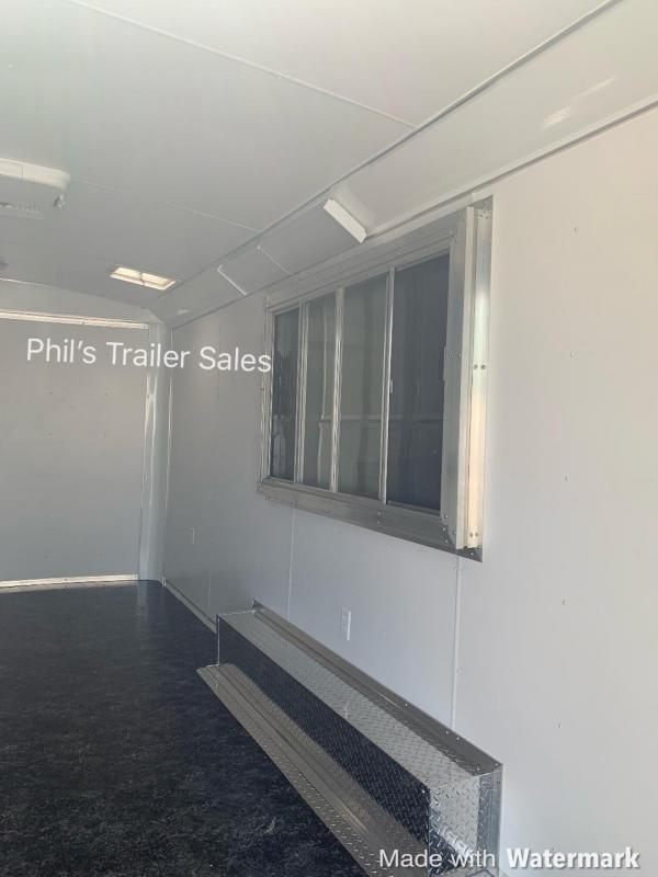 CONCESSION TRAILER  8.5x16  WITH VENT A HOOD Concession Vending / Concession Trailer