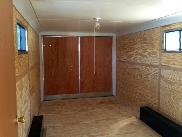 Haulmark Enclosed Trailer JOBSITE