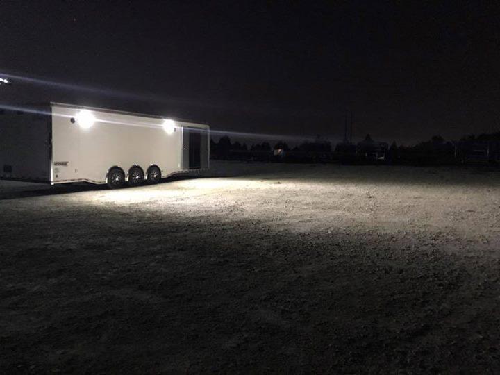 32 ft triple  Haulmark EDGE  Car / Racing Trailer