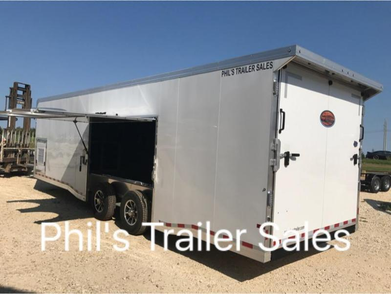 30 ALL ALUMINUM 7 ft Escape door Car / Racing Trailer