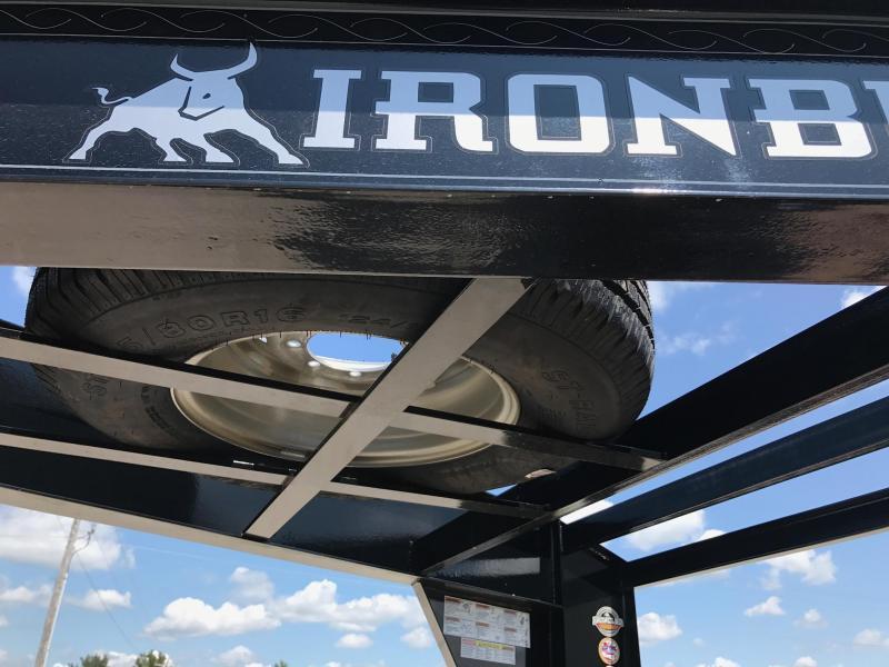 Iron Bull 102 X 40  Equipment Trailer DRIVE OVER FENDERS
