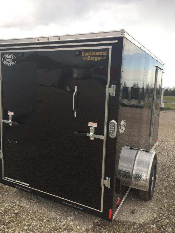 ENCLOSED TRAILER SEMI SCREWLESS  6x12 v nose ramp Cargo / Enclosed Trailer