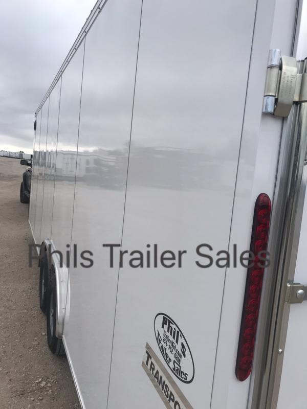 2019 24'  Haulmark COMMERCIAL GRADE Cargo / Enclosed Trailer