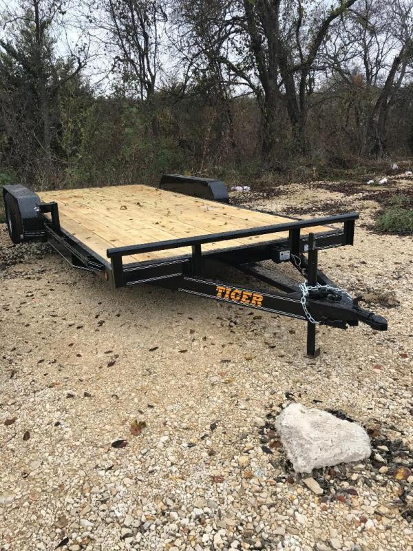 2018 Tiger 83x18 Utility Trailer