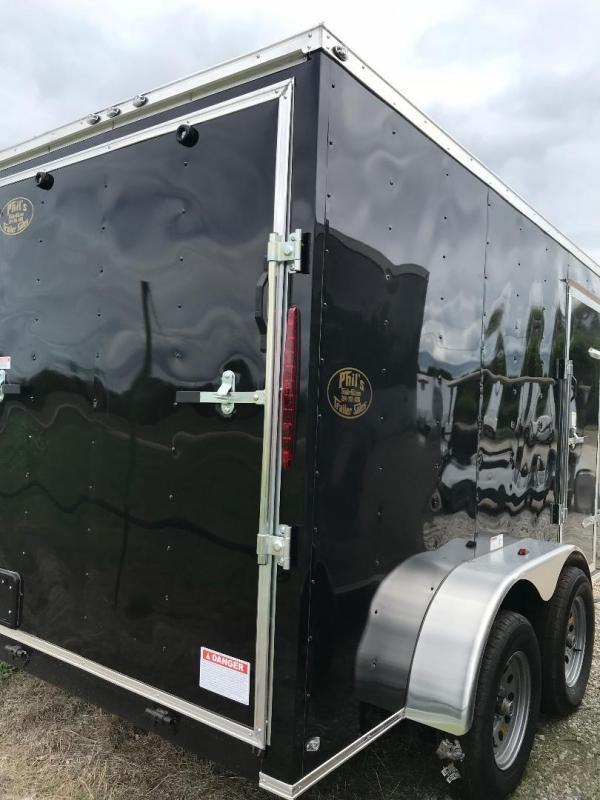6X12 TANDEM  TEXAS SELECT Enclosed Cargo Trailer