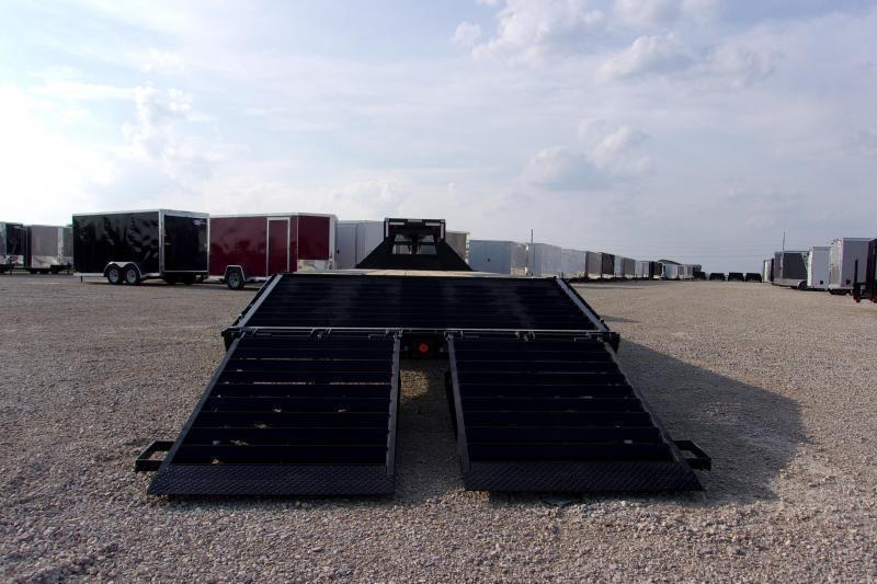 102x25  ' Gooseneck Iron Bull TANDEM DUAL Equipment Trailer