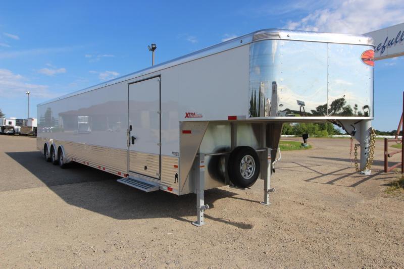 2020  48 FT Sundowner Trailers XTRA TRANSPORTER GOOSENECK Enclosed Cargo Trailer