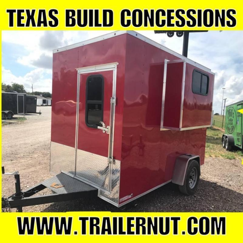 6x10 Concession Vending / Concession Trailer Enclosed Trailer