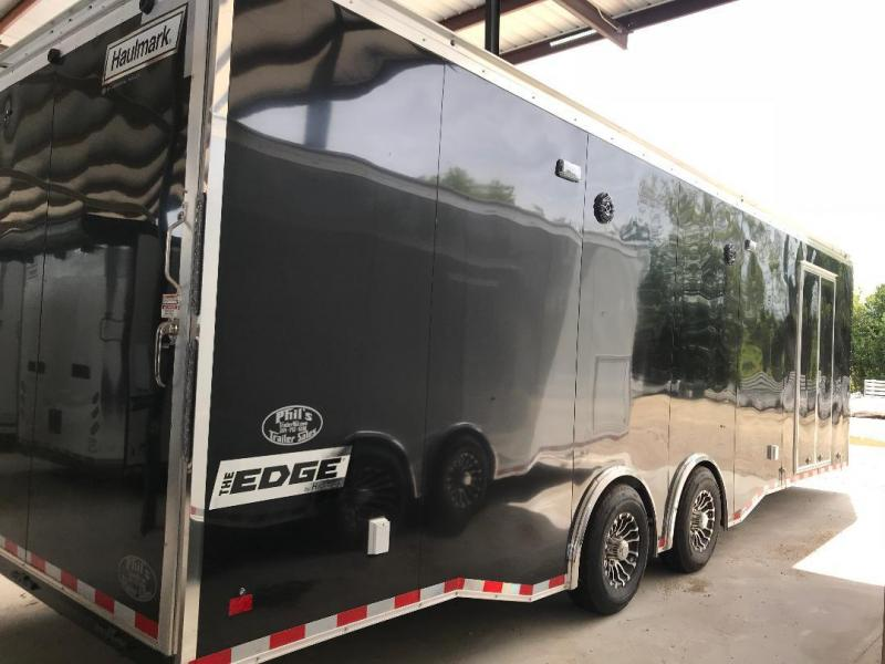 28' Haulmark Edge escape door  RACE TRAILER Car / Racing Trailer