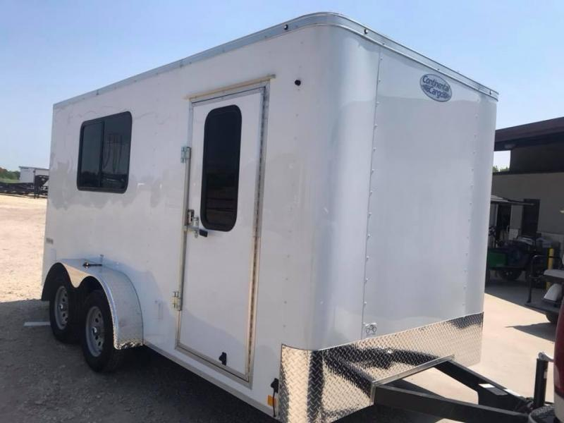 2019 Continental Cargo 7X14  OFFICE TRAILER Jobsite
