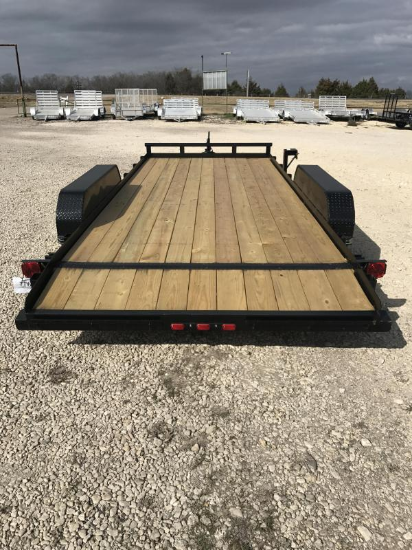 Tiger 18 ft car hauler Equipment Trailer