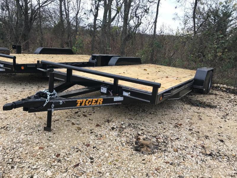 2018 Tiger 18 ft car hauler Equipment Trailer