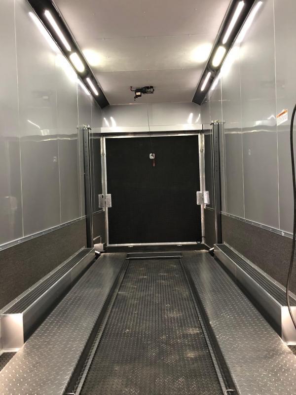 2018 Cargo Mate ALUMINUM STACKER Car / Racing Trailer