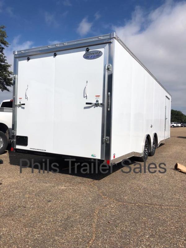 2019 28' COMMERCIAL GRADE Continental Cargo NOS Car / Racing Trailer