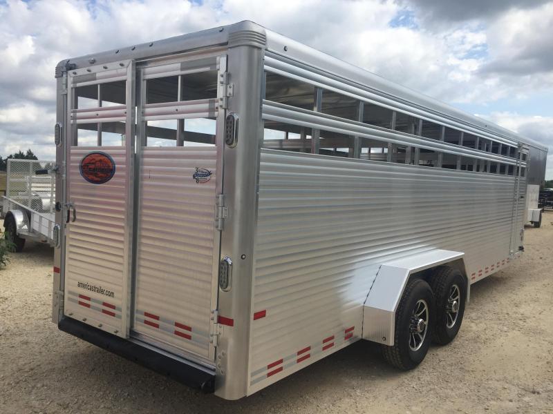 Sundowner Trailers 20 Rancher Express gooseneck Stock / Stock Combo Trailer