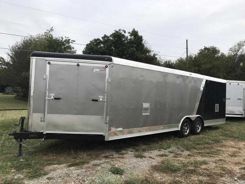 2018 24+ 5 V nose RAMP IN V NOSE Cargo / Enclosed Trailer
