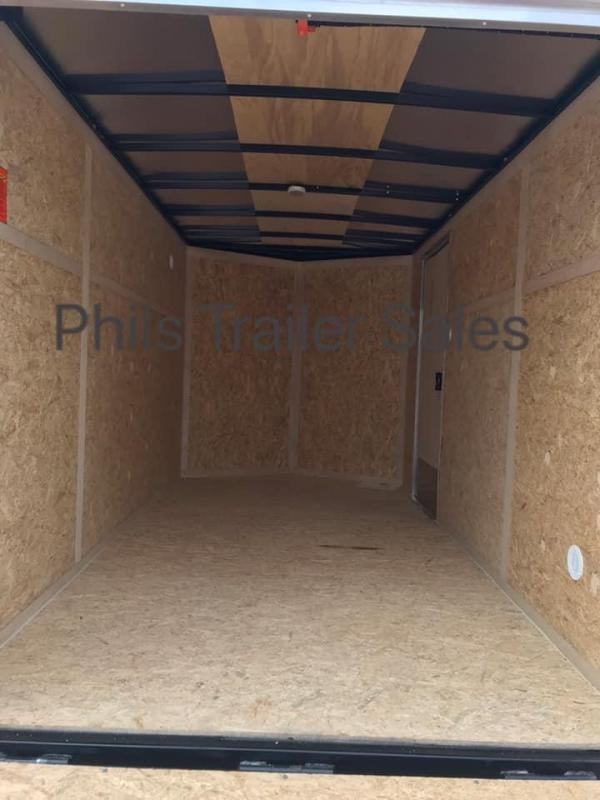 "6x12 + 24"" v nose  Pace American ramp Enclosed Cargo Trailer"