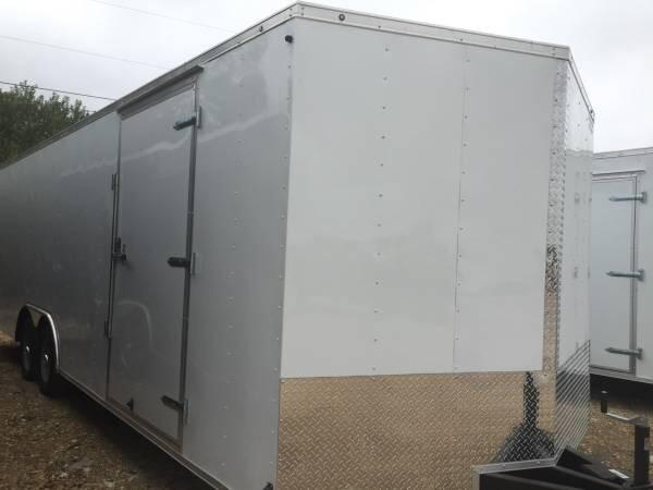 Continental Cargo Enclosed trailer*  7 ft inteior  8 5x24 with 5200lb axles car hauler