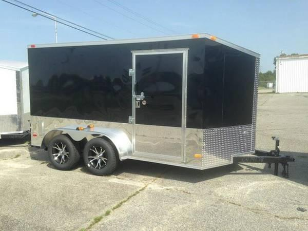Covered Wagon Trailers Enclosed Trailers Cargo Trailers