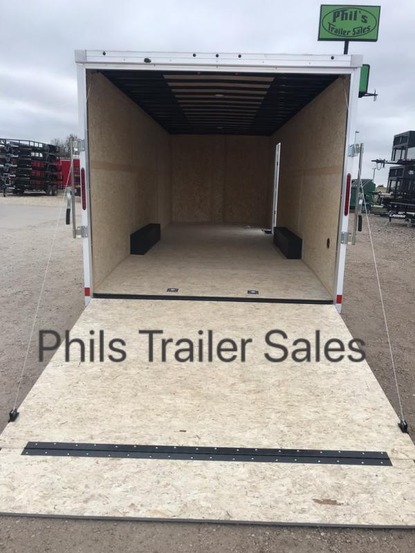 2019 24'  Haulmark COMMERCIAL GRADE Cargo / Enclosed Trailer