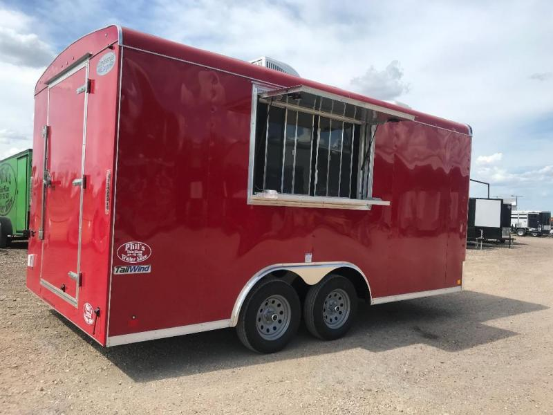Continental Cargo 8.5x16 Concession Vending / Concession Trailer