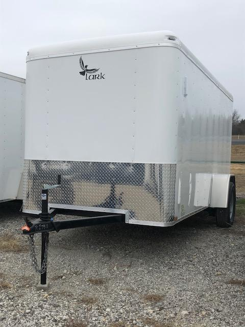 Enclosed  Trailer 6x12sa V nose Ramp door
