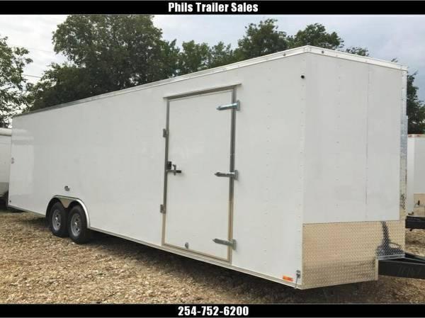 Continental cargo  8 5 x24 7 ft tall car hauler