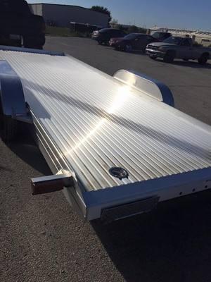 18'  Haulmark all aluminum  CAR HAULER Car