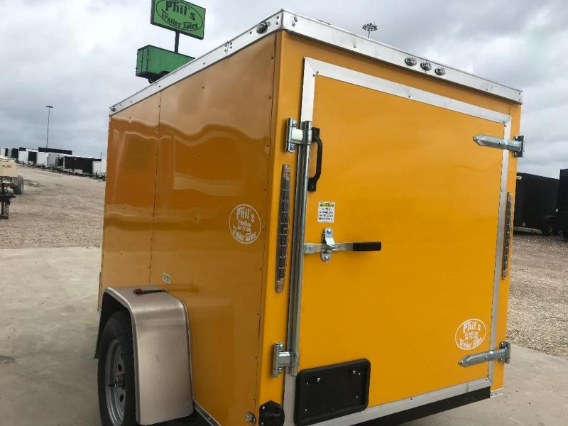 2018 Texas Select 5X8 Enclosed Cargo Trailer