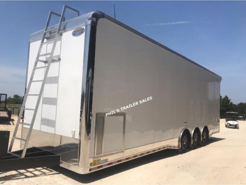 2020 Continental Cargo 32' SPRINT CAR TRAILER EXTRA HT Car / Racing Trailer