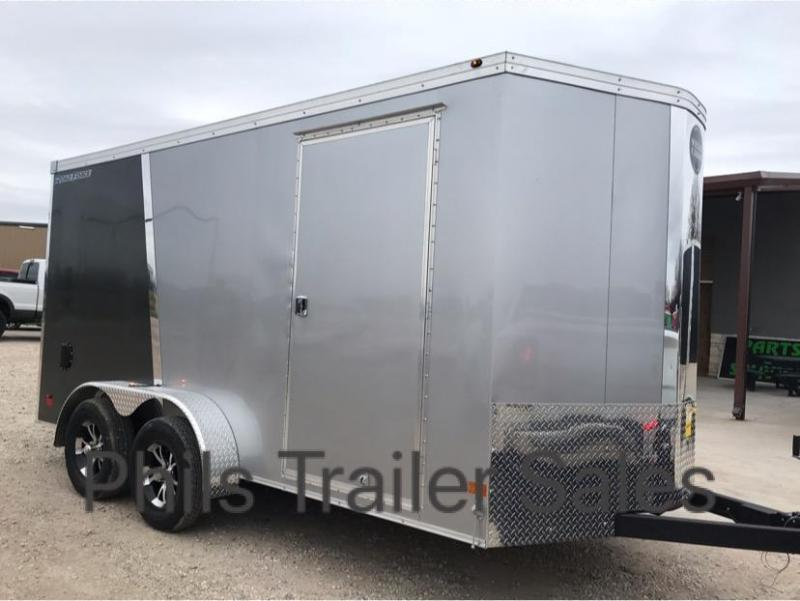 2019 Wells Cargo 7X14 2 TONE ALUMINUM ROOF   Enclosed Cargo