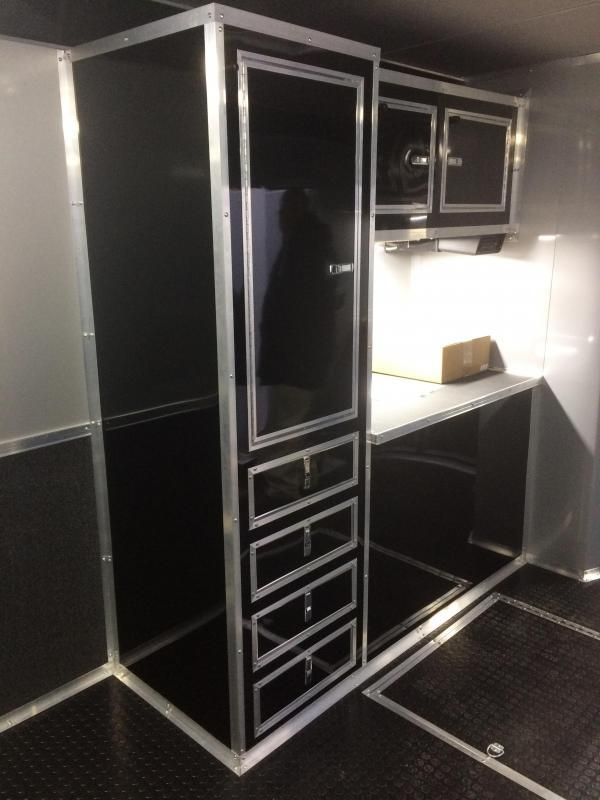 Race Trailers With Bathrooms Part - 20: 34u0027 BATHROOM - SHOWER TRAILER AUTO MASTER Car - Racing Trailer enclosed  trailer