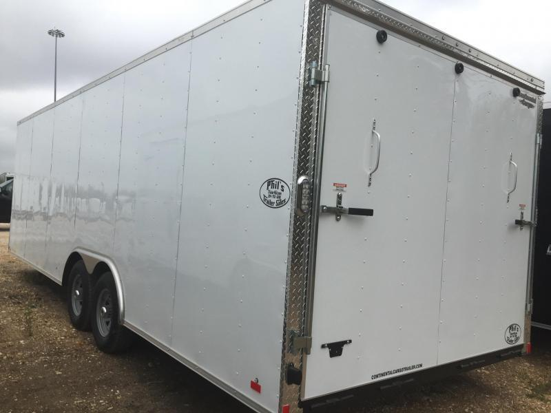 Continental Cargo 28 car hauler Car / Racing Trailer enclosed trailer*