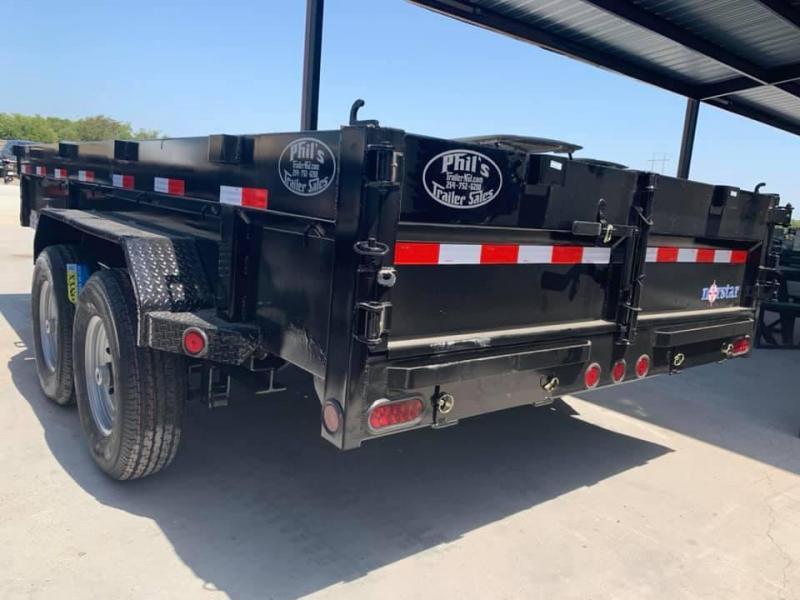 Norstar 83X14 DUMP TRAILER Dump Trailer WITH TARP POWDER COATED