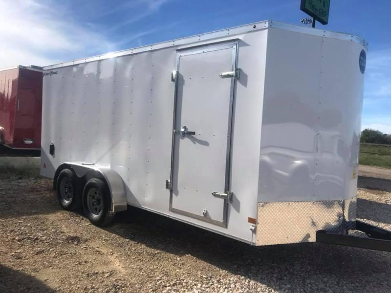 HAULMARK  7x16+2 v Enclosed trailer Fast Track Cargo / Enclosed Trailer