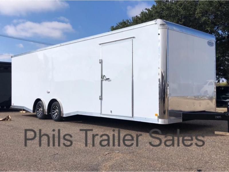 2020 28' COMMERCIAL GRADE Continental Cargo NOS Car / Racing Trailer