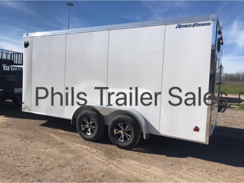 2019 Wells Cargo Slant Nose Enclosed Cargo Trailer