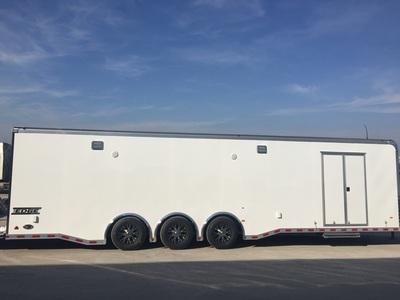 32' Haulmark EDGE Car / Racing Trailer LOADED