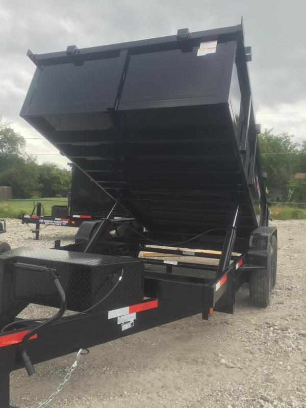 "Trailer 83x14 dump trailer 8 k axles 30"" SIDES RAMPS"
