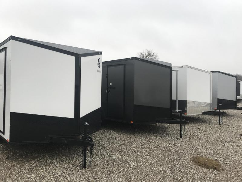 2018  7x12  Screwless Cargo / Enclosed Trailer