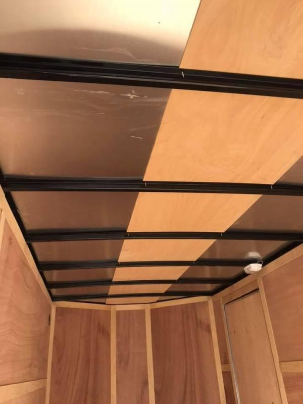 "Wells Cargo DOUBLE DOOR  7x16 + v 6"" extra ht Enclosed trailer Fast Track Cargo / Enclosed Trailer"