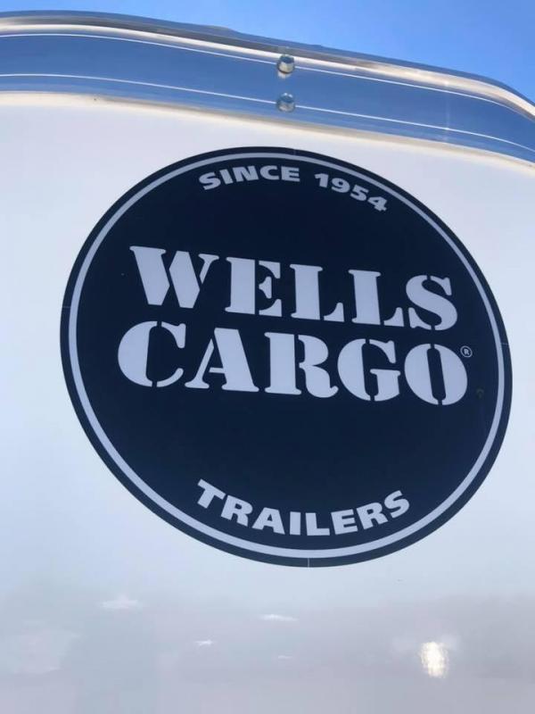 "Wells Cargo DOUBLE DOOR  7x14 + v 6"" extra ht Enclosed trailer Fast Track Cargo / Enclosed Trailer"