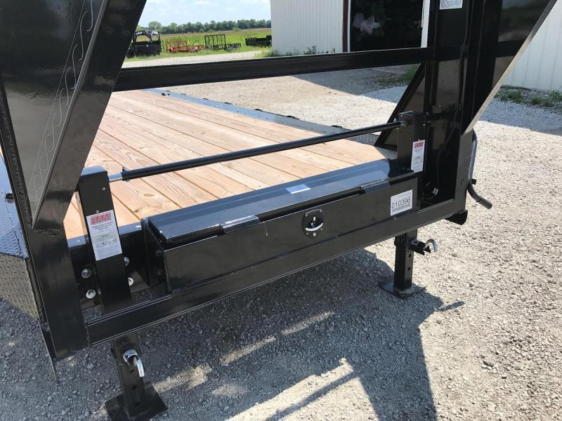 Iron Bull 102 X 40  Equipment Trailer DRIVE OVER FENDERS