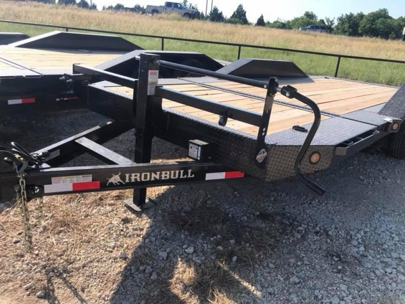 2019 Iron Bull 20 TILT EQUIPMENT Equipment Trailer