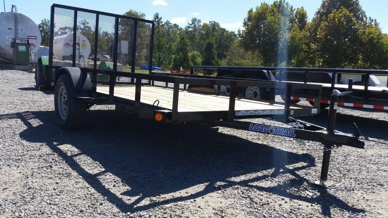 "2017 Load Trail 77"" x 12' Single Axle Utility Trailer"