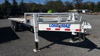"2017 Load Trail 102"" X 22' Pintle Hook Tilt Deck Equipment Trailer"