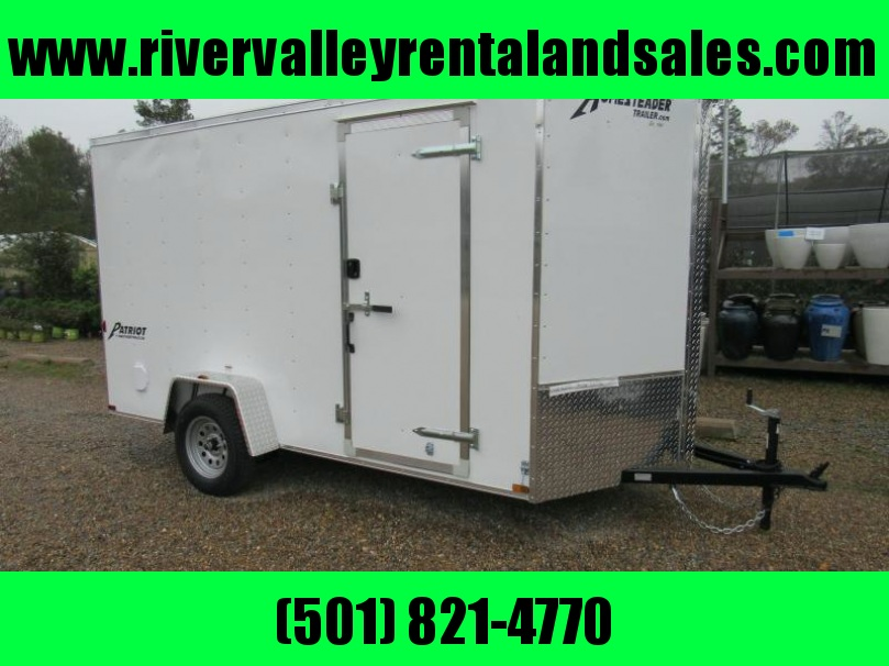 2017 6X12 Homesteader Enclosed Cargo Trailer
