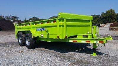 "2017 Load Trail  83"" x 14' Low Pro Tandem Axle Dump Trailer"