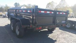 "2017 Load Trail 83"" x 14' Tandem Axle Dump Trailer Dump Trailer"